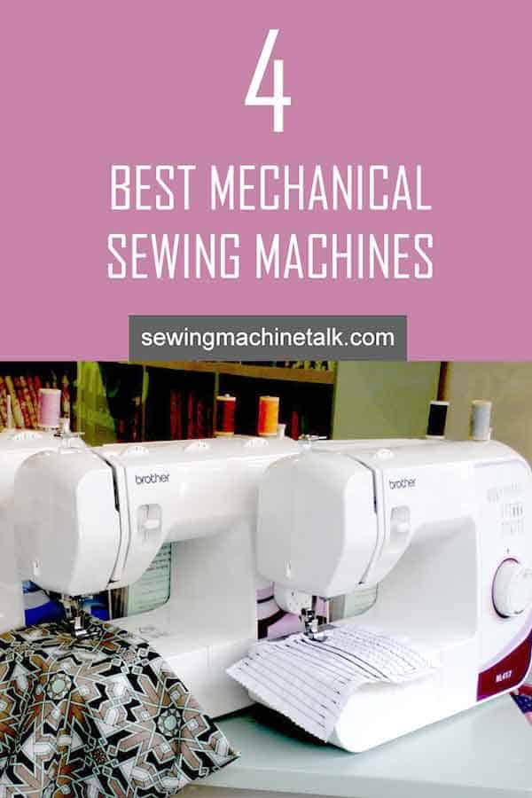 best mechanical sewing machines for beginners