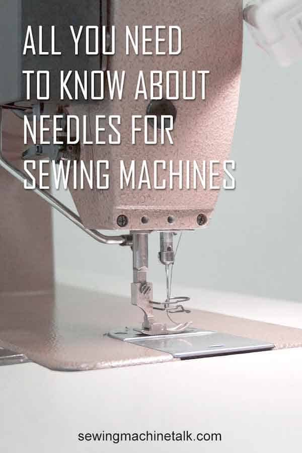 Sewing machine needles numbers