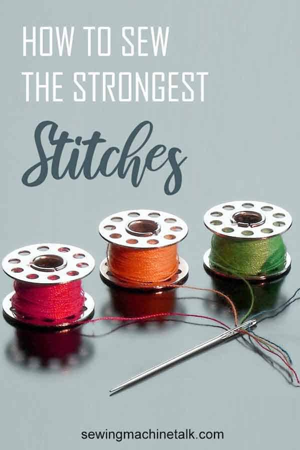 The strongest stitch on the sewing machine