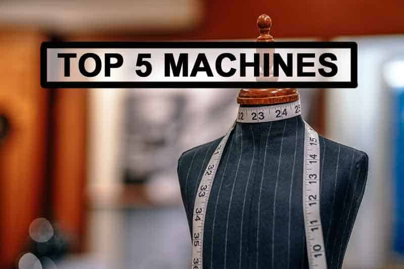 Most sold sewing machines (top5 list)