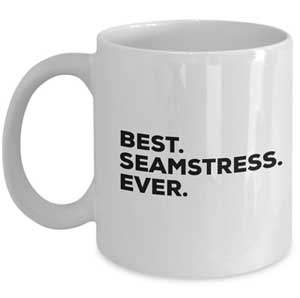 Mug for seamstress